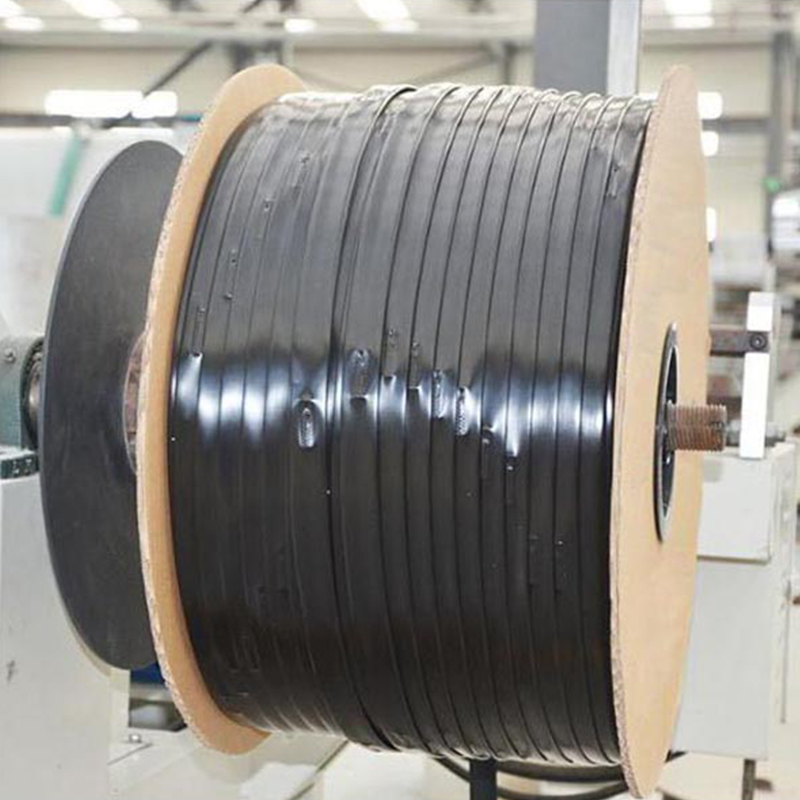 Patch drip irrigation tape